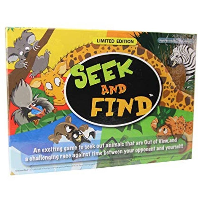 Seek and Find Limited Edition