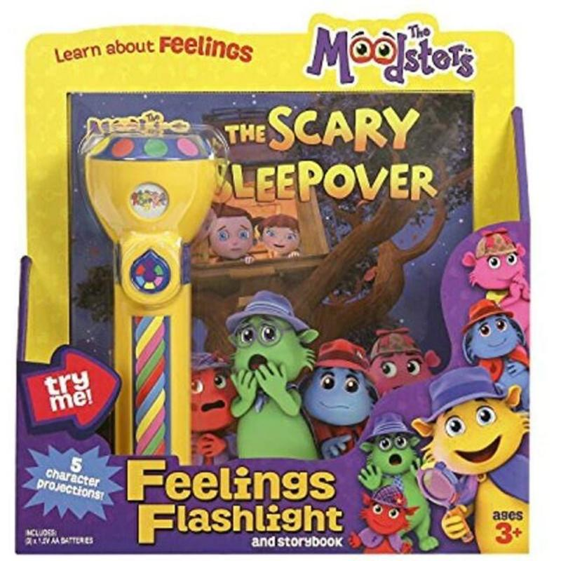 Moodsters Flashlight and Story Book