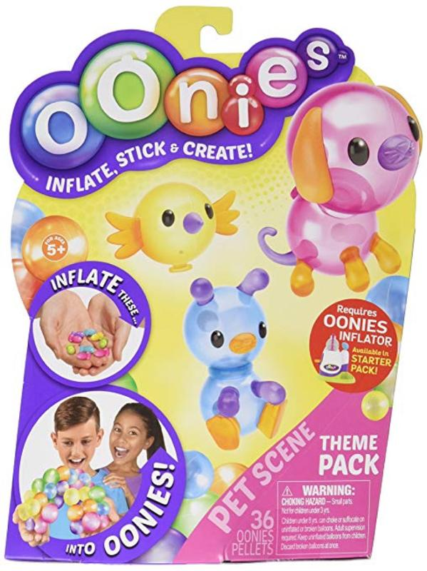 Oonies Season 1 Theme Refill Pack Pet Scene