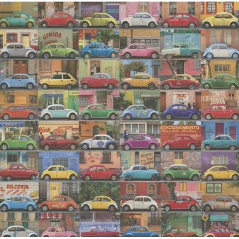 Muchos Autos 500 Piece Puzzle
