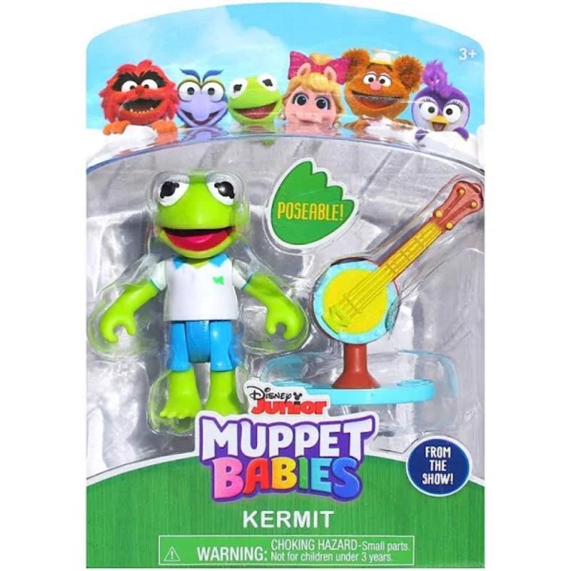 Muppet Babies - Poseable Kermit