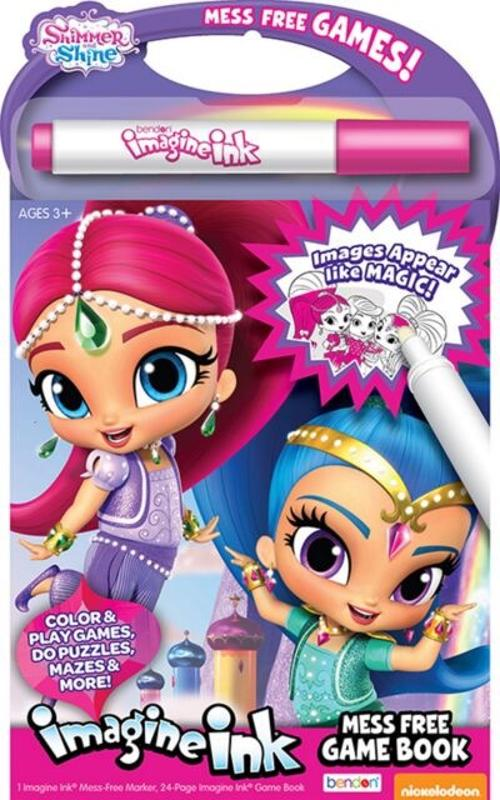 Imagine Ink Mess Free Book Shimmer and Shine