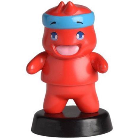 Ninja 4 Inch Bobblehead Red