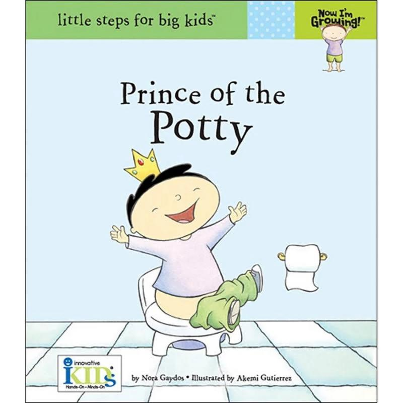 Now I Growing Book - Prince of the Potty