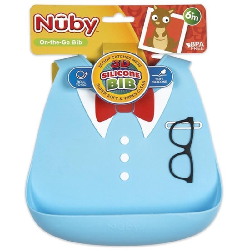3D Silicone Baby Bib Little Professor