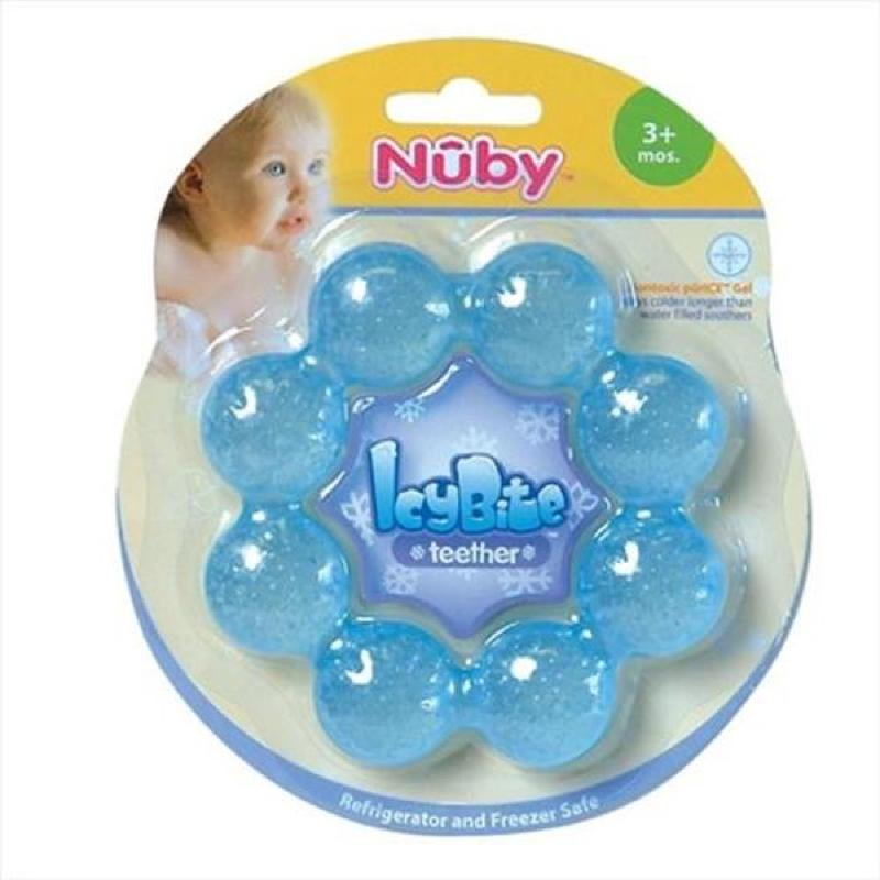 IcyBite Teether Ring Blue