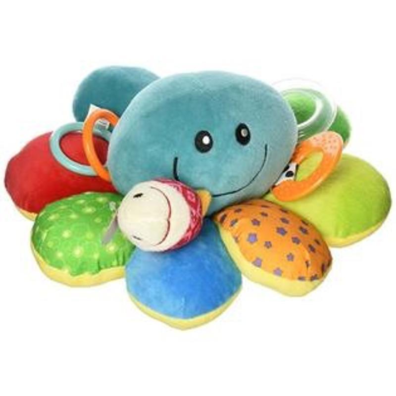 Octofun Interactive Octopus Plush