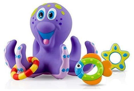 Octopus Bath Time Toss