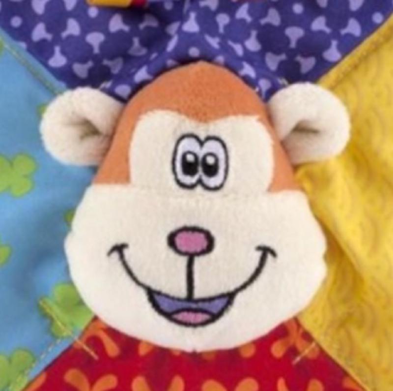 Teething Blankie Monkey