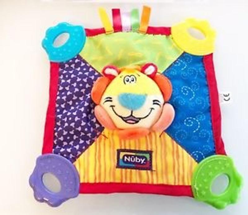 Teething Blankie Lion