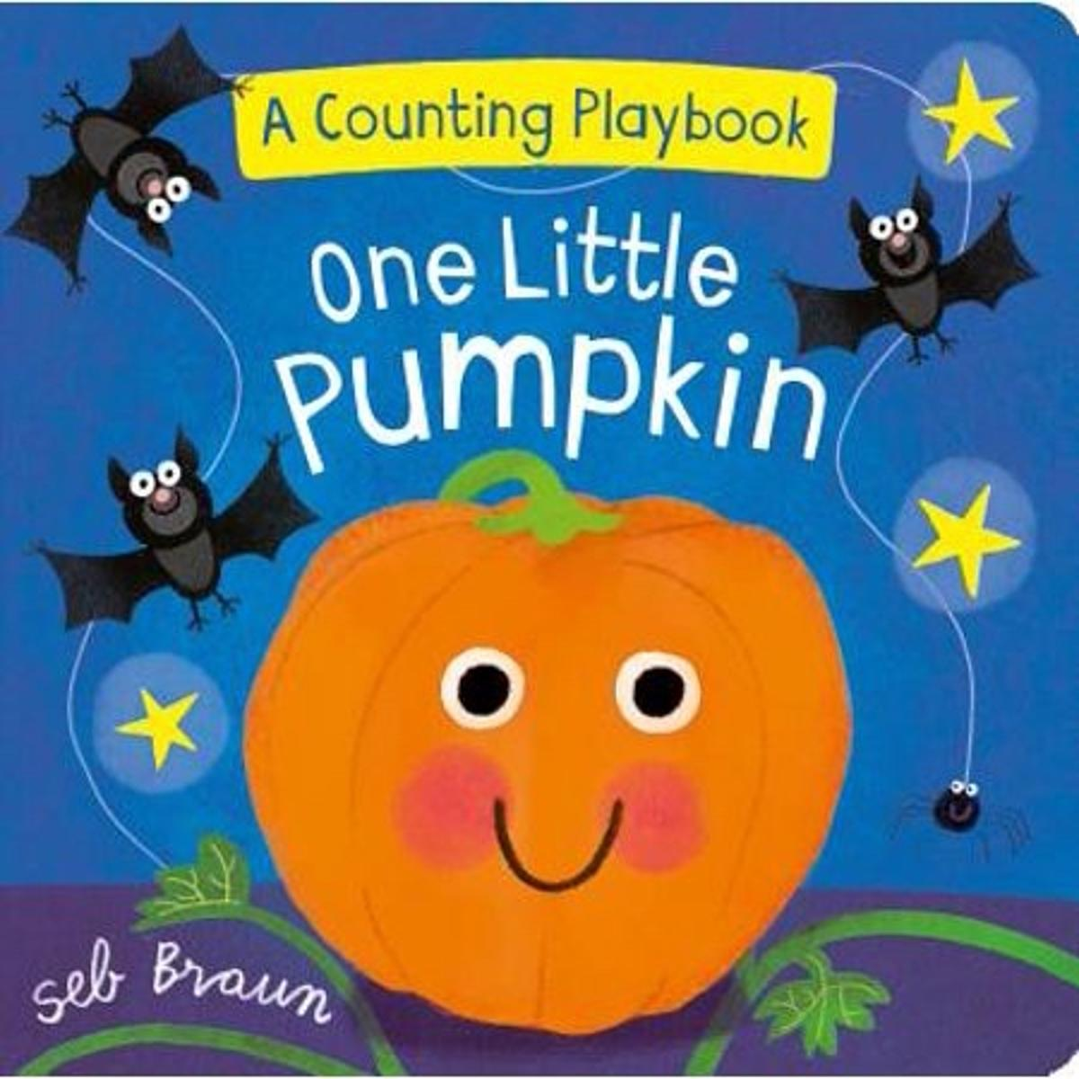 One Little Pumpkin Halloween Story Book