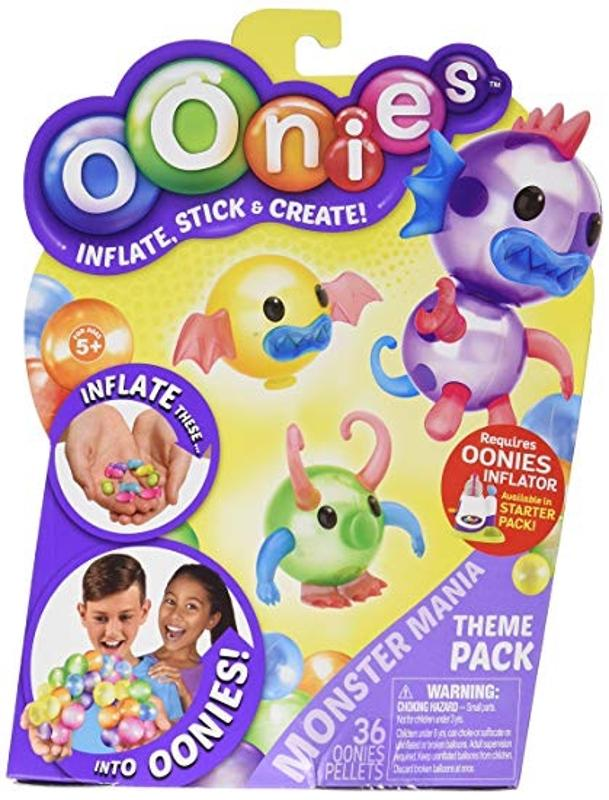 Oonies Season 1 Theme Refill Pack Monster Mania