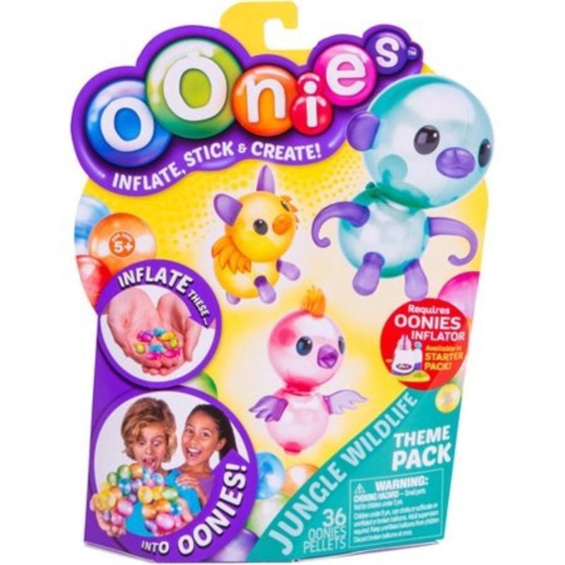 Oonies Season 1 Theme Refill Pack Jungle Wildlife