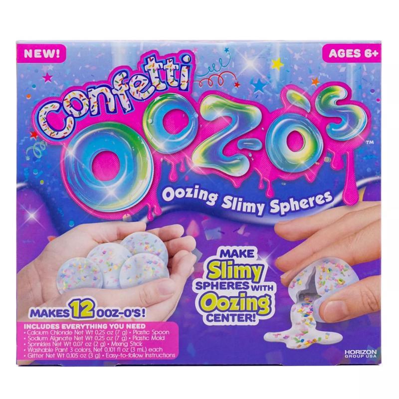 Ooz-os Confetti Oozing Slimy Spheres