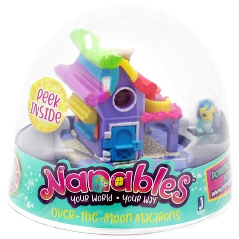 Over the Moon Macarons Nanables 1/2 Inch Playset