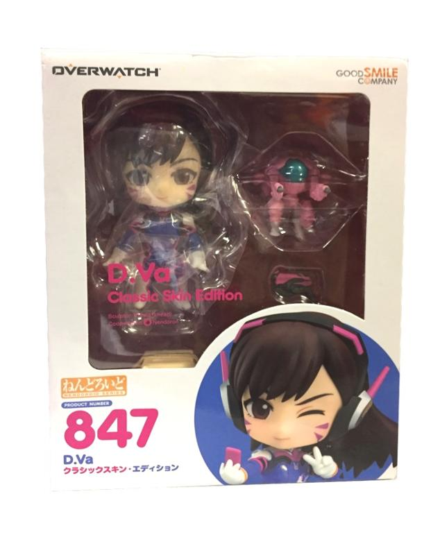 Overwatch Nendoroid D.Va Action Figure #847 [Classic Costume]