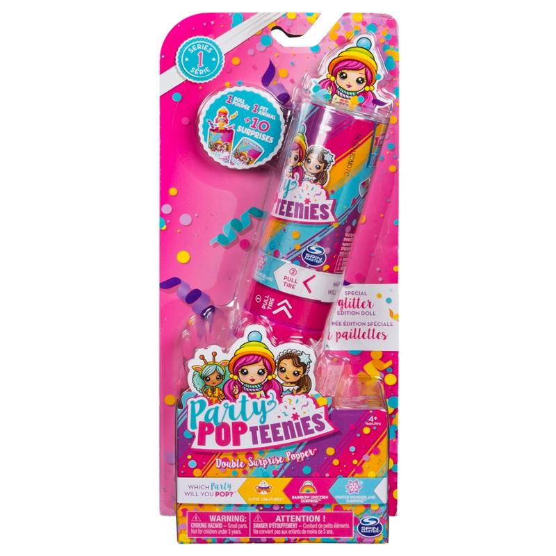 Party Popteenies Double Surprise Popper with Confetti