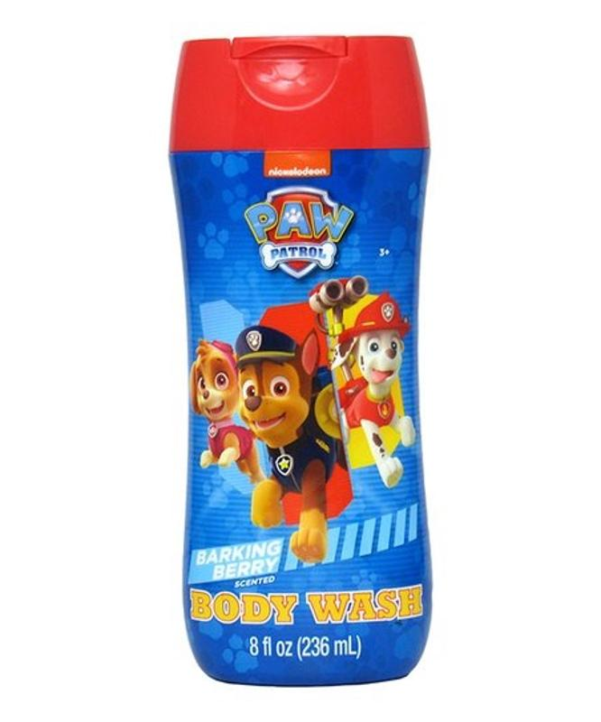 Paw Patrol Barking Berry Body Wash, 8 Oz