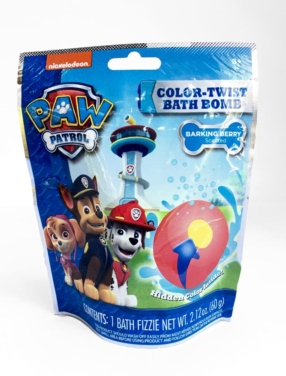 Paw Patrol Color Twist Bath Bomb