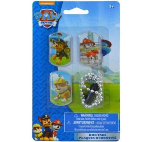 Paw Patrol Dog Tags