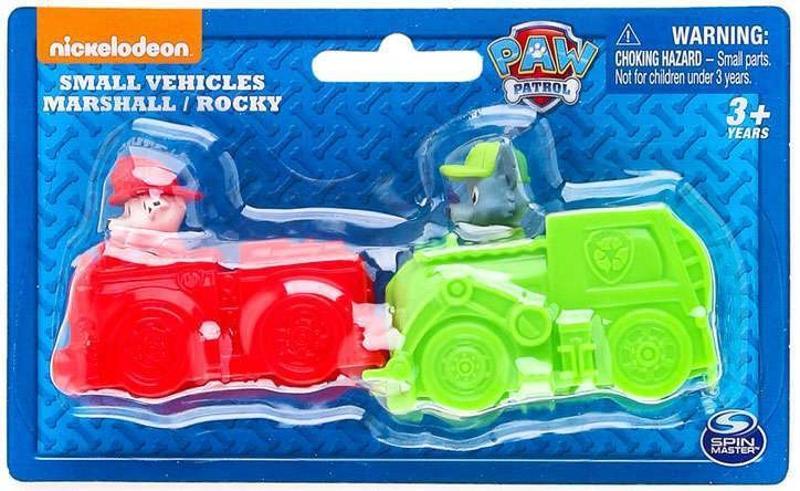 Paw Patrol Small Vehicles Marshall and Rocky