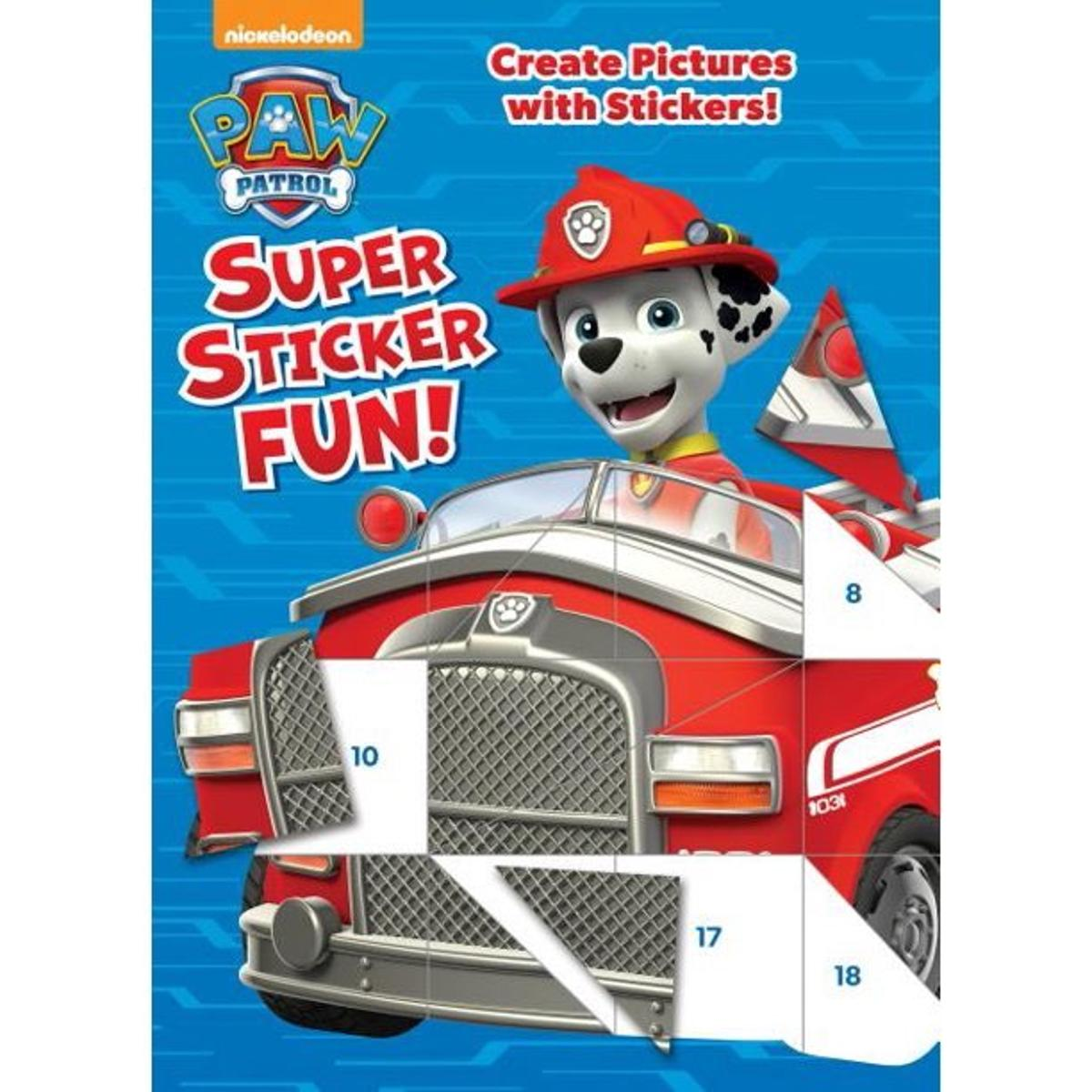 PAW Patrol Super Sticker Fun Activity Book