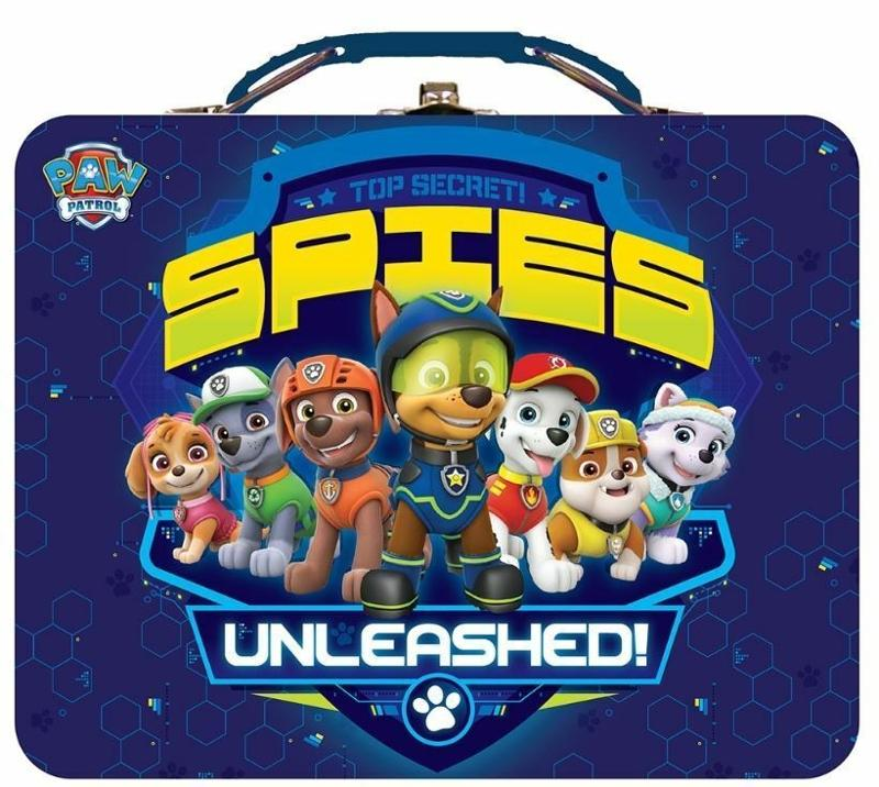 Paw Patrol Top Secret Spies Unleashed Tin Lunch and Storage Box