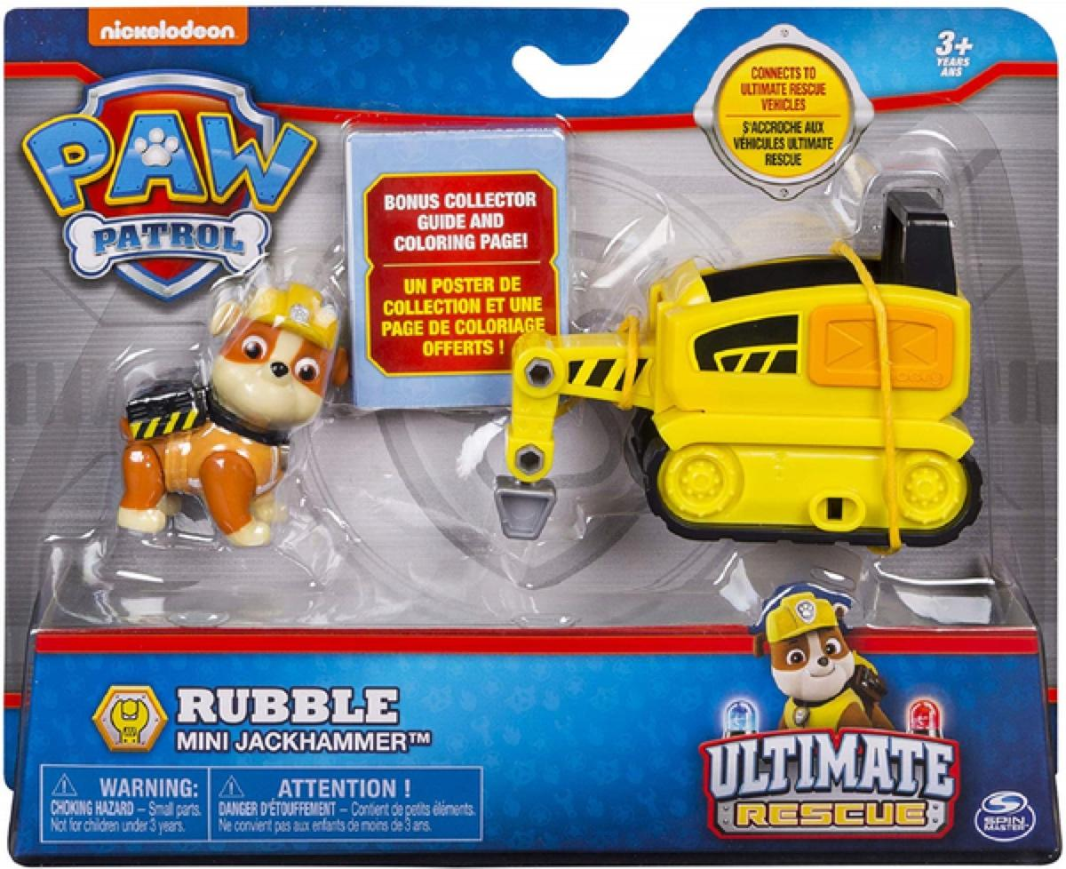 Paw Patrol Ultimate Rescue Rubble Mini Jackhammer
