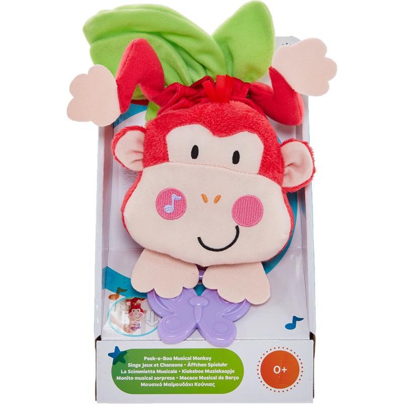 Peek-a-Boo Musical Monkey