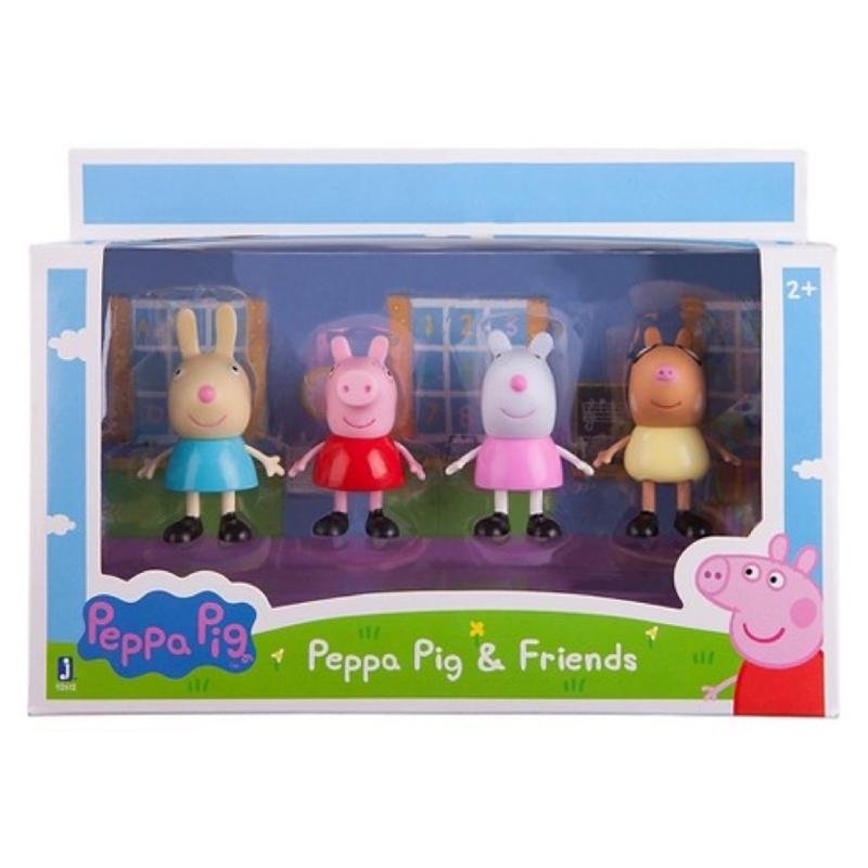 Peppa Pig and Friends 4 Piece Play Set