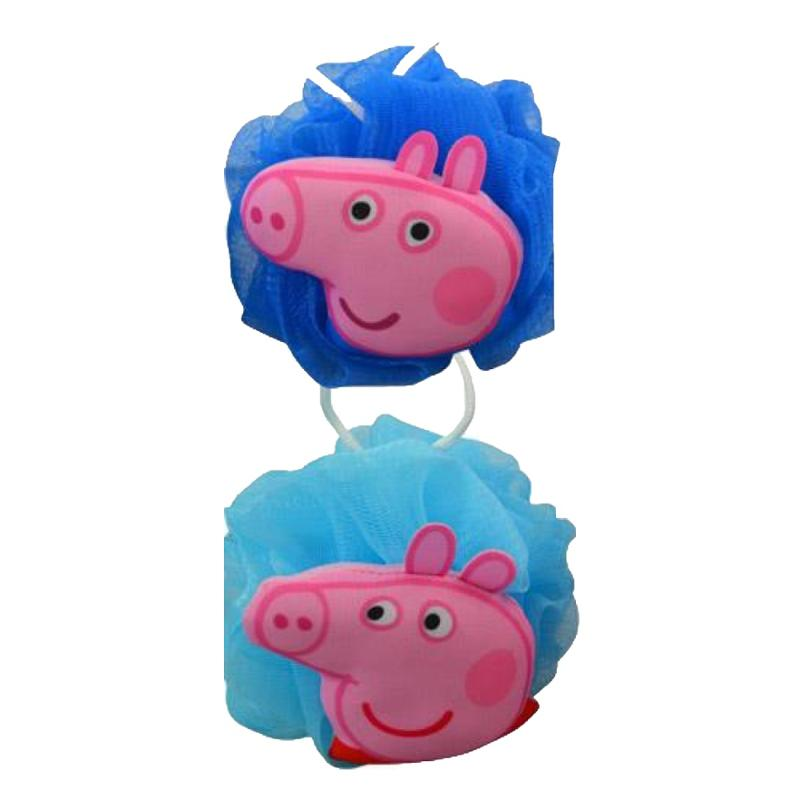Peppa Pig 2 Bath Loofahs and 2 Bubble Gum Body Wash