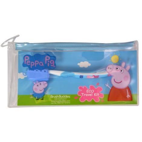 Peppa Pig Eco Toothbrush Travel Kit