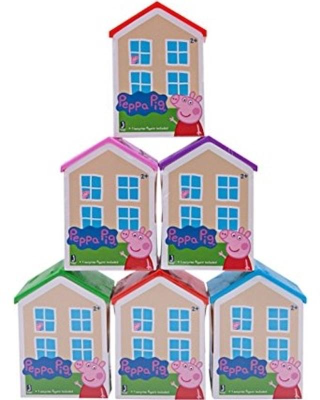 Peppa Pig Blind Figure House 6 Pack