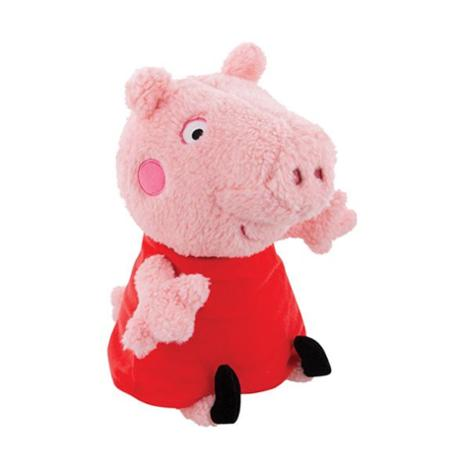 Plush Peppa Pig in Red Dress 13.5 Inches