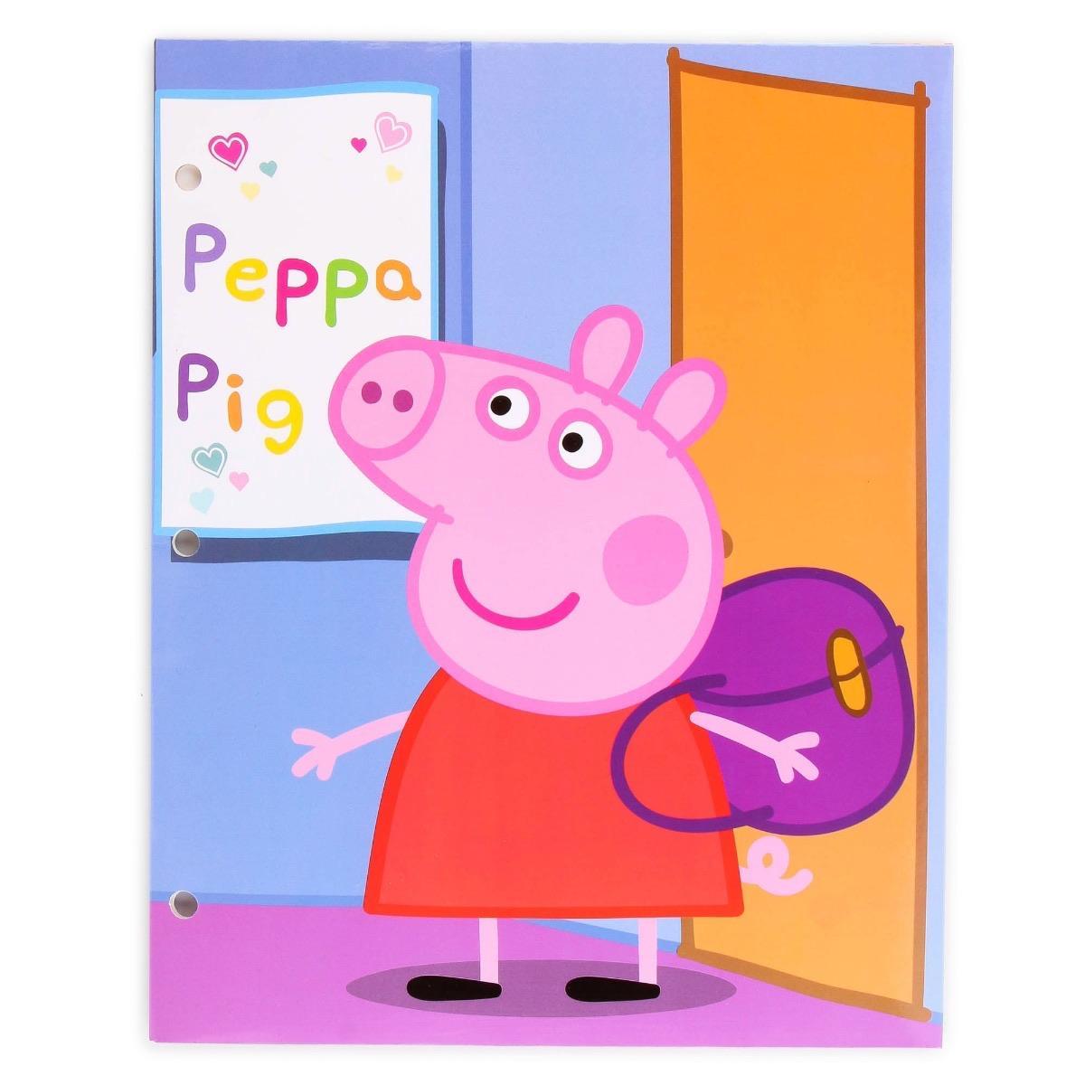 Peppa Pig Portfolio 2 Pack