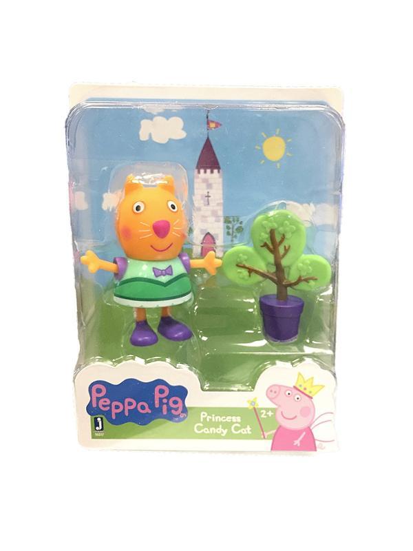 Peppa Pig Friends and Fun Princess Candy Cat Figure
