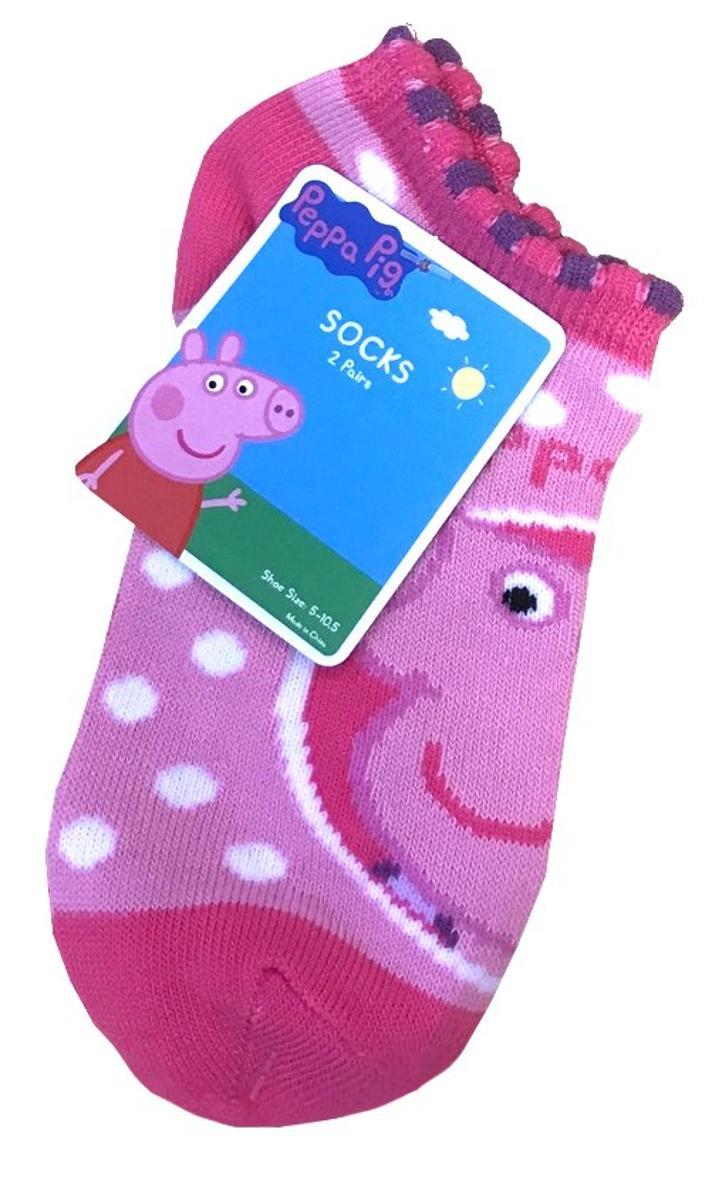 Peppa Pig Toddler Socks 2 Pairs