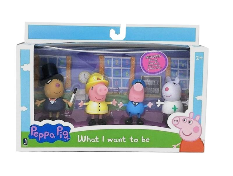 Peppa Pig What I Want To Be Figures