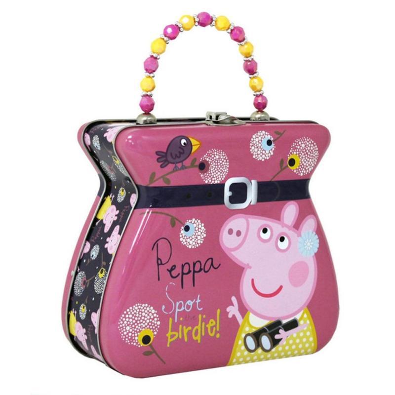 Peppa Pig and Birdie Tin Purse