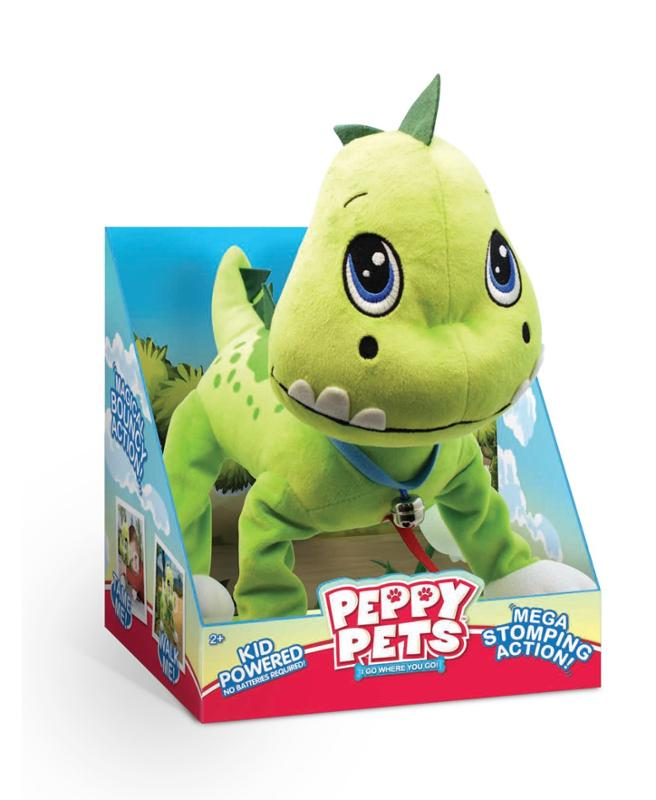 Peppy Pets Dinosaur in Display Box