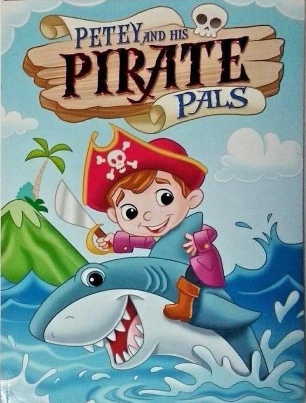 Petey and the Pirate Pals Coloring and Activity Book