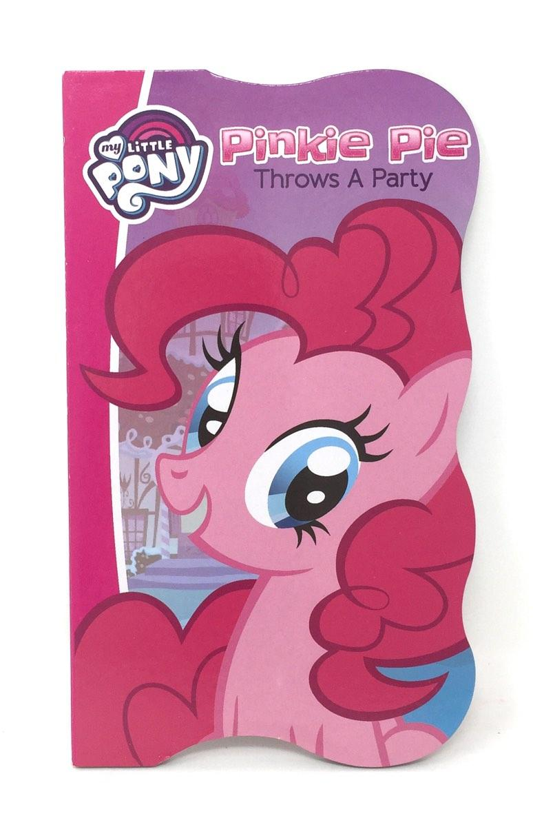 Pinkie Pie Throws A Party Board Book