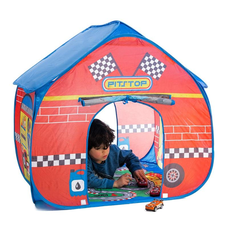 Pit Stop Pop Up Play Tent