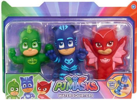 PJ Mask 3 Pieces Bath Squirters
