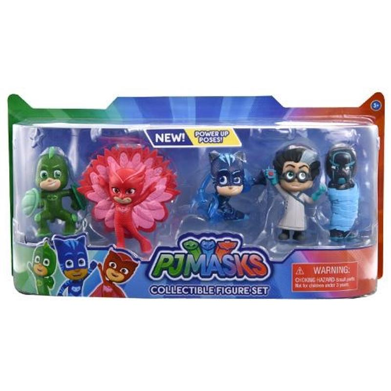 PJ Masks Collectable 5 Pieces Figures Set