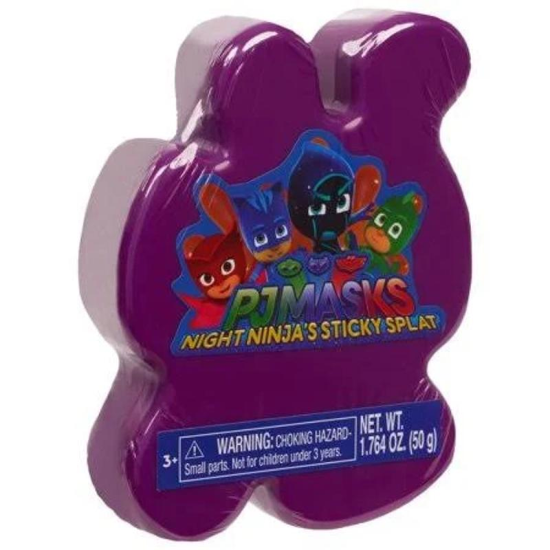 PJ Masks Sticky Splat Putty - Purple