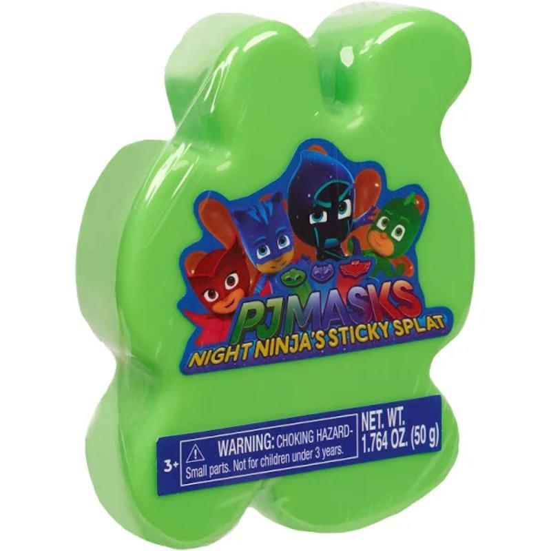 PJ Masks Sticky Splat Putty Green