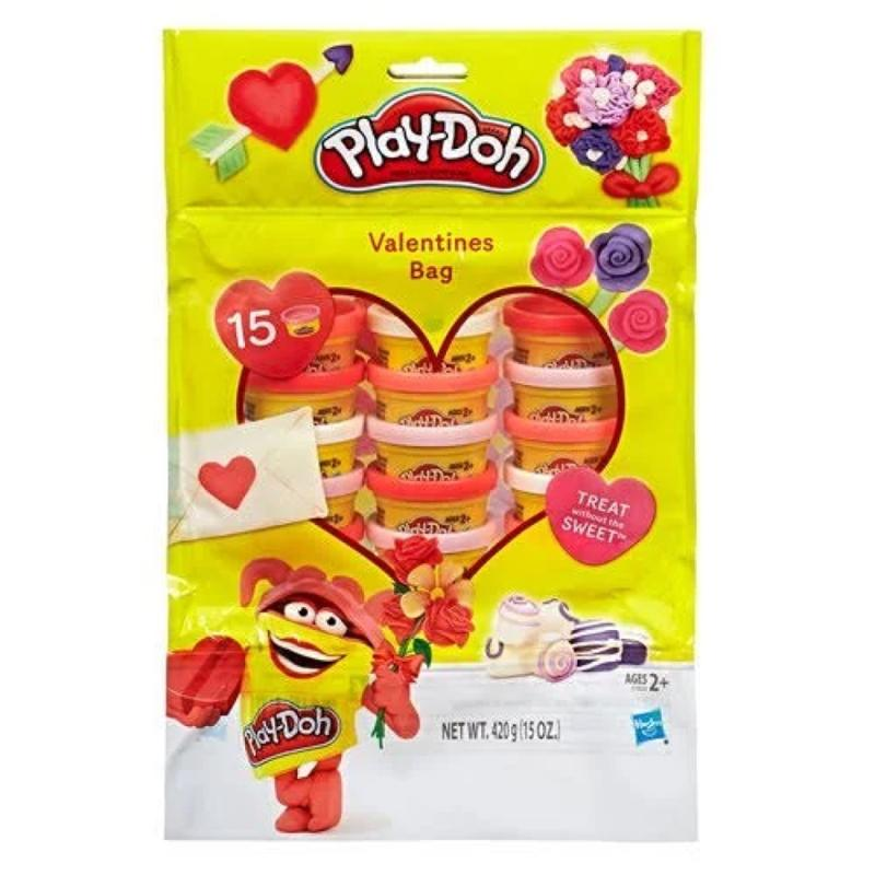 Play Doh Valentines 15 Can Bag