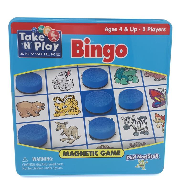 Get Well Bear Bounce Back Jack and Magnetic Bingo Gift Set