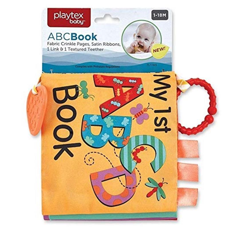 Playtex ABC Cloth Book